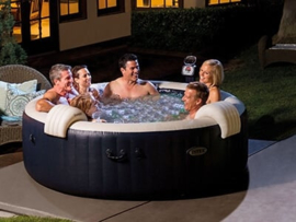 Intex PureSpa PLUS+ Bubble Massage Ø 216cm, 6 persoons-model (28432NL)