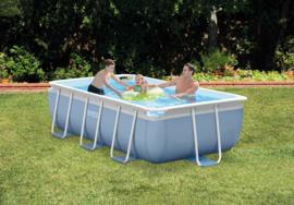 Intex Prism Frame 300 x 175 x 80 cm inclusief filterpomp en zwembadtrap (26784GN)