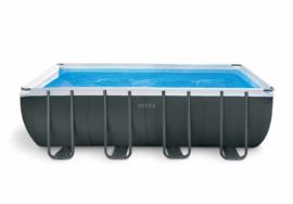 Intex Ultra XTR Frame zwembad 549 x 274 x 132 cm  met 4m3 zandfilterpomp (26356GN)