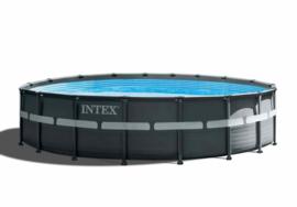 Intex Ultra XTR Frame zwembad 549 x 132 cm incl 6m3 zandfilterpomp en extra accessoires (26330GN)