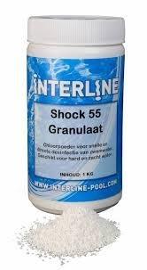 Interline Chloorpoeder Shock 55 1 kg (52781202)