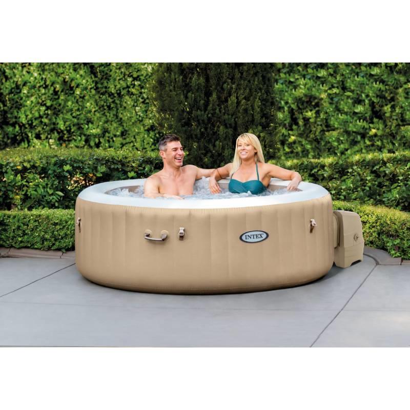 Intex PureSpa Bubble Massage Ø 196cm 4 persoons-model (28426NL)