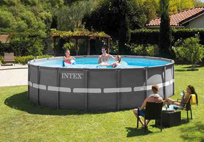 Intex zwembad ultra frame