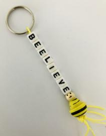 Sleutelhanger  ' BEE-lieve '
