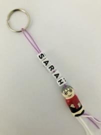 Sleutelhanger  ' Sarah '