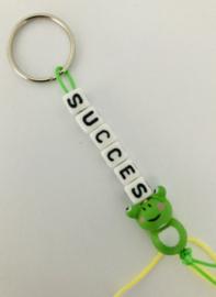 Sleutelhanger  ' Succes '