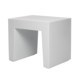 Concrete Seat Light Grey