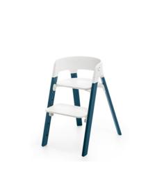Stokke® Steps™ stoel varianten witte schaal beuken