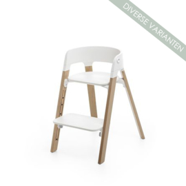 Stokke® Steps™ Seat wit stoelpoten Oak