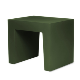 Concrete Seat Forest Green