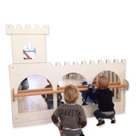 Leer lopen spiegel kasteel