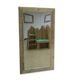 steigerhouten spiegellijst groot