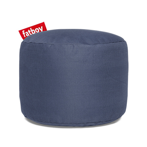 Zitzak Fatboy Blauw.Point Stonewashed Blauw Point Stonewashed