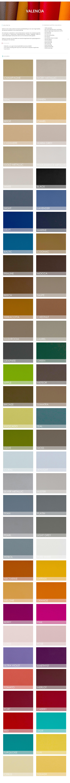 valentia kunstleer juiste kleuren