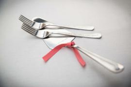 Bruidstaart vorkjes & taartschep