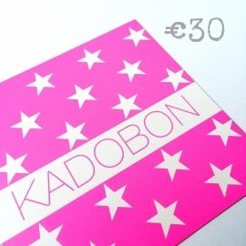 Kadobon €30