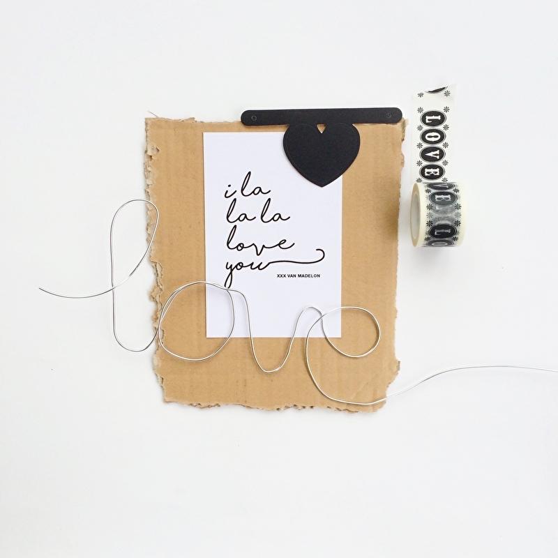 KAARTJE | CUSTOMIZE |  'I LA LA LA LOVE YOU'