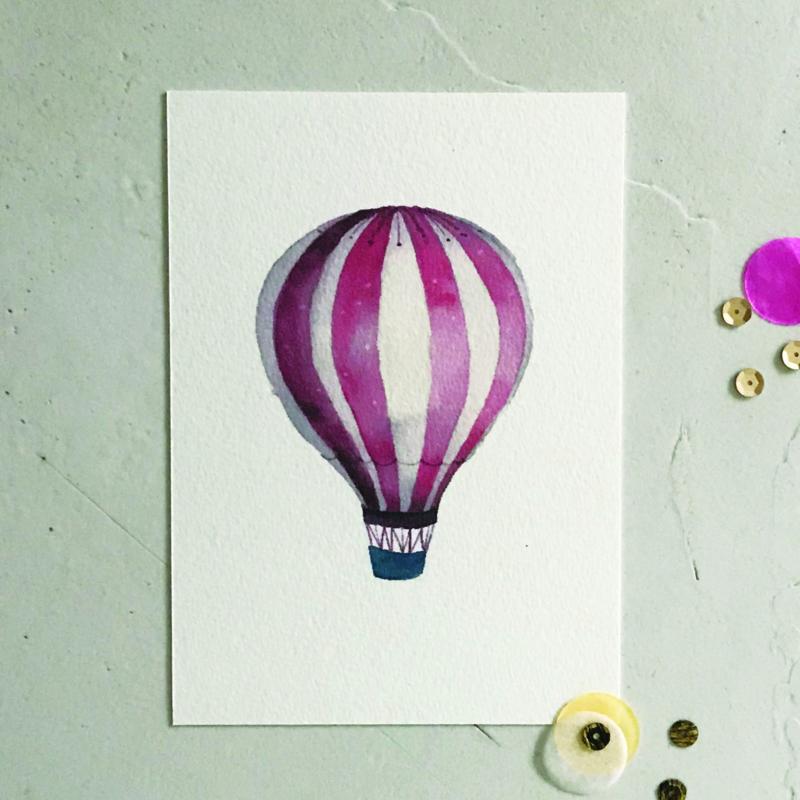 KAARTJE | luchtballon