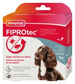 Fiprotec Spot-On hond 10-20 kg 4 pipetten