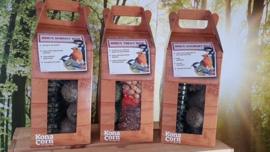 Vogel traktatie box 3 soorten