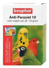 Anti-Parasiet 10 voor vogels van 20-50 gram