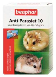 Anti-Parasiet 10 voor knaagdieren van 20-50 gram