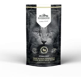 Riverwood Cat Sterilised Venison, Lamb with Rabbit 300 gram