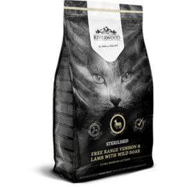 Riverwood Cat Sterilised Venison, Lamb with Rabbit 2 kg