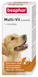 Multi-Vit Hond met carnitine 20 ml