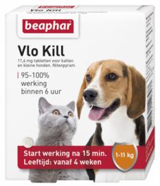 Vlokill+ Kat en Hond tot 11 kg 6st