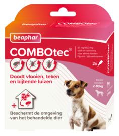 COMBOtec hond 2-10 kg 2 pipetten