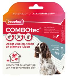 COMBOtec hond 10-20 kg 2 pipetten