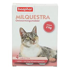 Milquestra Wormtabletten Kat 4 tabletten