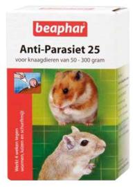 Anti-Parasiet 25 voor knaagdieren van 50-300 gram