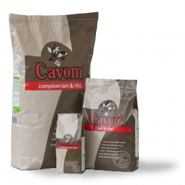 Cavom Lam en Rijst 20 kg