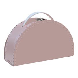 halfrond koffertje blush roze