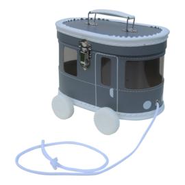 speelkoffertje grijze tram