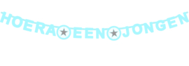 Wensletterlijn Star/Hart blauw