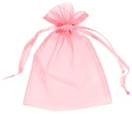 Babyshower uitdeelzakjes roze