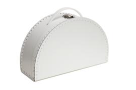 halfmoon suitcase white