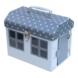 suitcase house grey