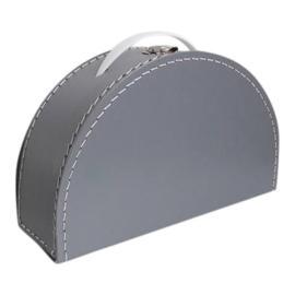 halfmoon suitcase grey