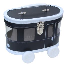 speelkoffertje zwarte tram