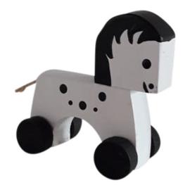 little horse on wheels