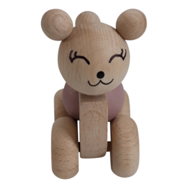 bear with spinning ball