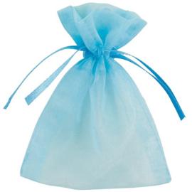 Babyshower uitdeelzakjes blauw