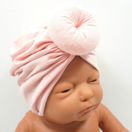 Babymutsje Donut Blush