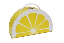 lemon suitcase