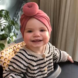 Babymutsje Donut Woodchuck