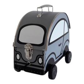 speelkoffertje auto